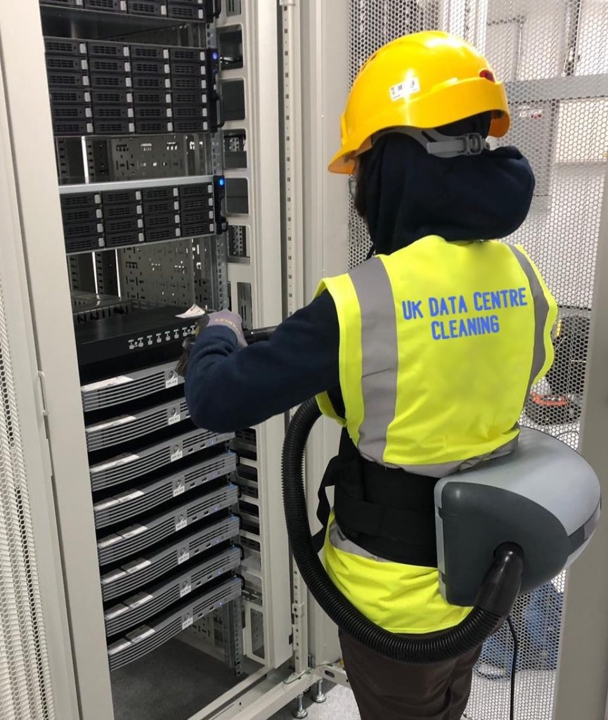 Data Centre Cleaning, Server Room Cleaning London UK